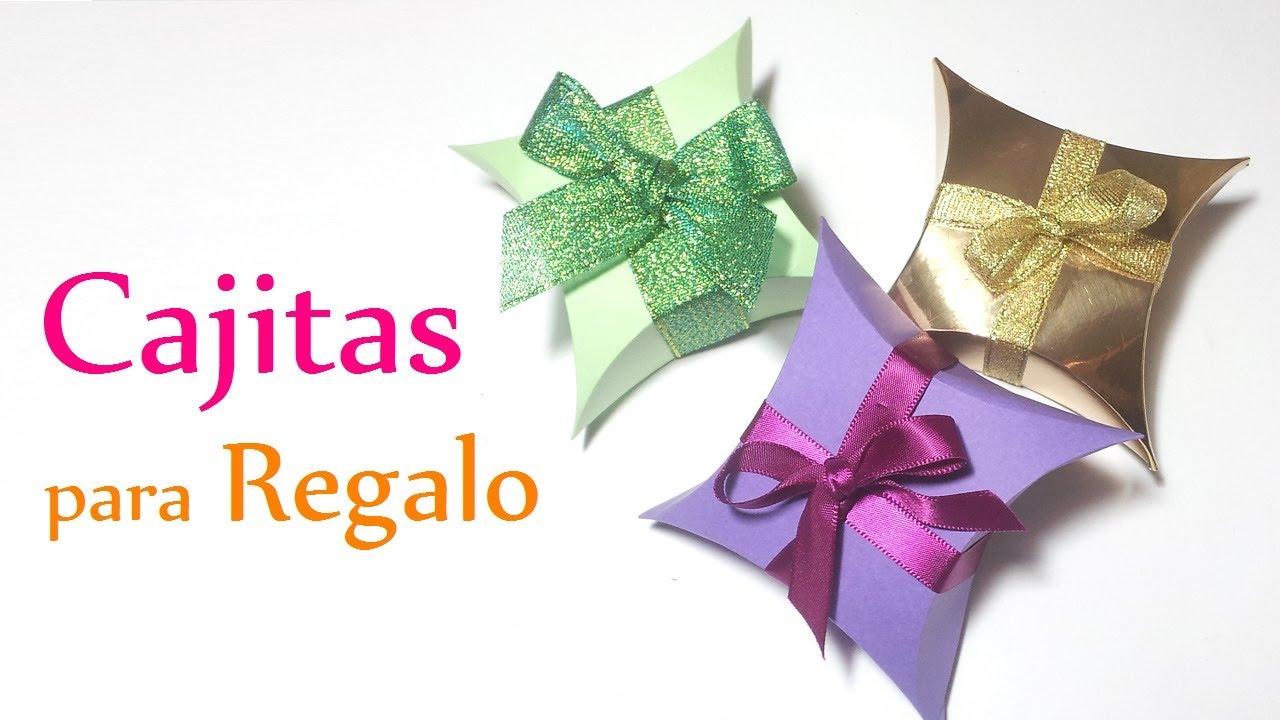 Manualidades cajitas de regalo f ciles innova - Manualidades de papel reciclado ...