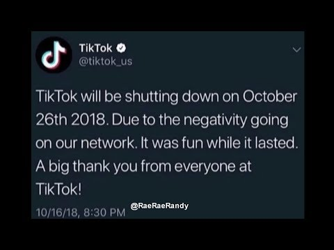 Tik Tok Is Shutting Down 😥 *NOT CLICKBAIT* Mp3
