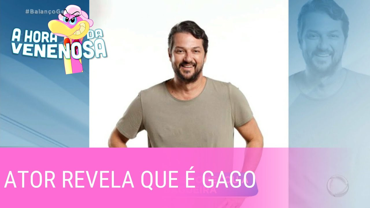 Marcelo Serrado revela que começou a atuar para se curar da gagueira
