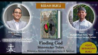 Webinar Bedah Buku FINDING GOD