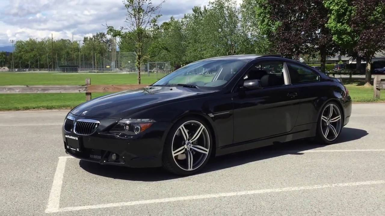 2005 bmw 645ci m6 wheels coilovers lowered clean 17 990 cad youtube. Black Bedroom Furniture Sets. Home Design Ideas