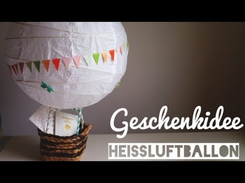 diy hochzeitsgeschenk hei luftballon diy inspiration youtube. Black Bedroom Furniture Sets. Home Design Ideas