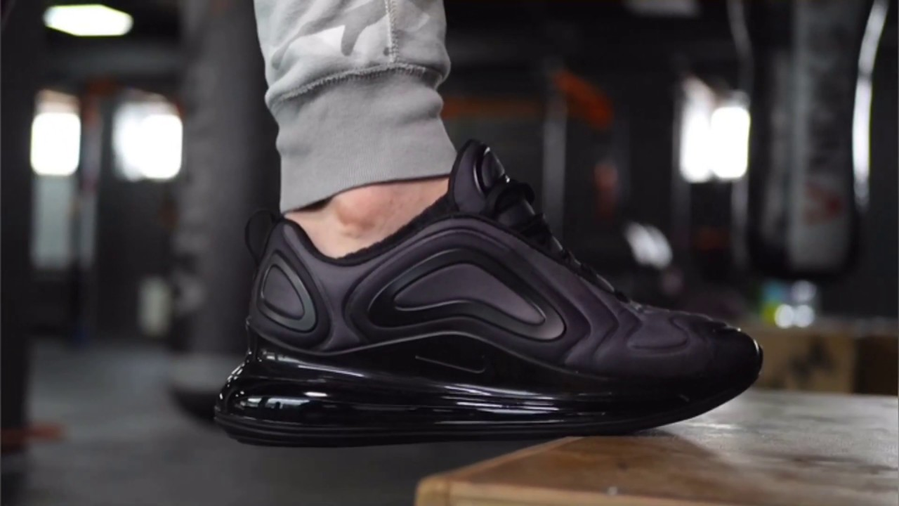 Nike Air Max 720 Total Eclipse Black Anthracite Ao2924 004 On