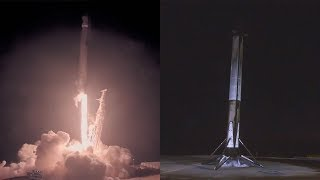 Falcon 9 launches SAOCOM 1A & Falcon 9 first stage landing at Vandenberg