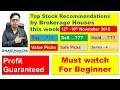 Top Picks by Brokerage Houses|Earn money online by Smart Investment||by the Intelligent investor