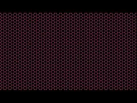 12Hrs of Medium Black Circle Grid on Crimson