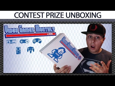 Video Games Monthly - Commercial Contest Prize Unboxing