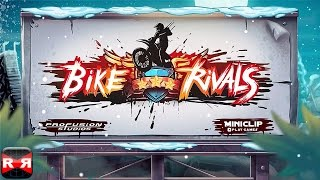 Bike Rivals - Christmas Update - iOS / Android - Gameplay Video