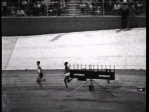 Kip Keino/Ron Clarke-3 Miles,1966,Commonwealth Games,Jamaica