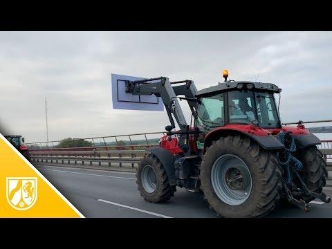 Bauern-Demos in NRW