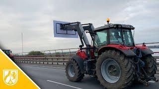 Bauern-Demos in NRW - Hupender Protest am Niederrhein
