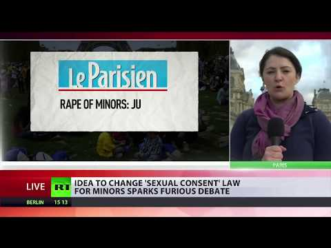 Idea to change 'sexual consent' law for minors in France sparks fury