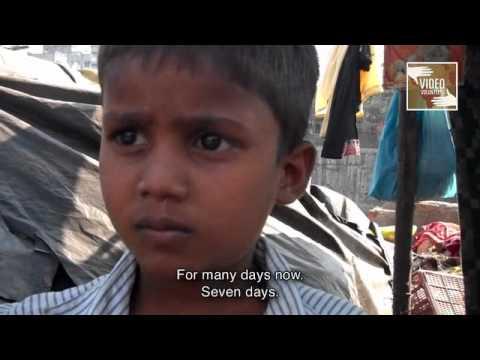 Slum Children's Education Bulldozed by City