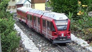 1. fränkische Gartenbahnfest Allersberg Teil 1 LGB Gartenbahn  Stammtisch Nürnberg