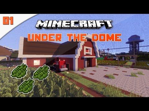 Minecraft Under The Dome: Μέρος 1ο - Πουλάμε ιατρική κάνναβη