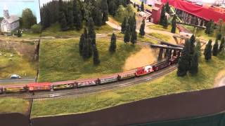 4-8-8-4 UP Big Boy with Circus Train - Monroe Train Show