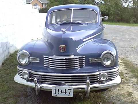 1947 Nash 600, inside and out