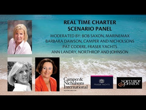 Bob Saxon, Barbara Dawson, Pat Codere & Ann Landry - Real Time Charter Scenario Panel