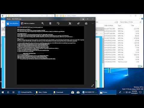AppCheck Anti-Ransomware : TeslaCrypt Ransomware (.mp3 / Recovery+{*}.html/.png/.txt) Block Video