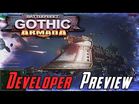 AJ's Battlefleet Gothic Armada Developer Preview!