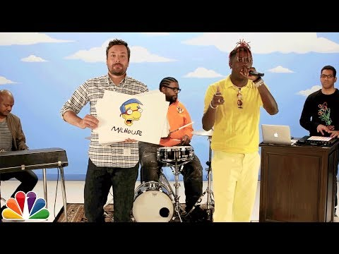 Lil Yachty Raps About 59 Simpsons Characters