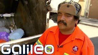 Müllmänner in Banden-Vierteln | Galileo
