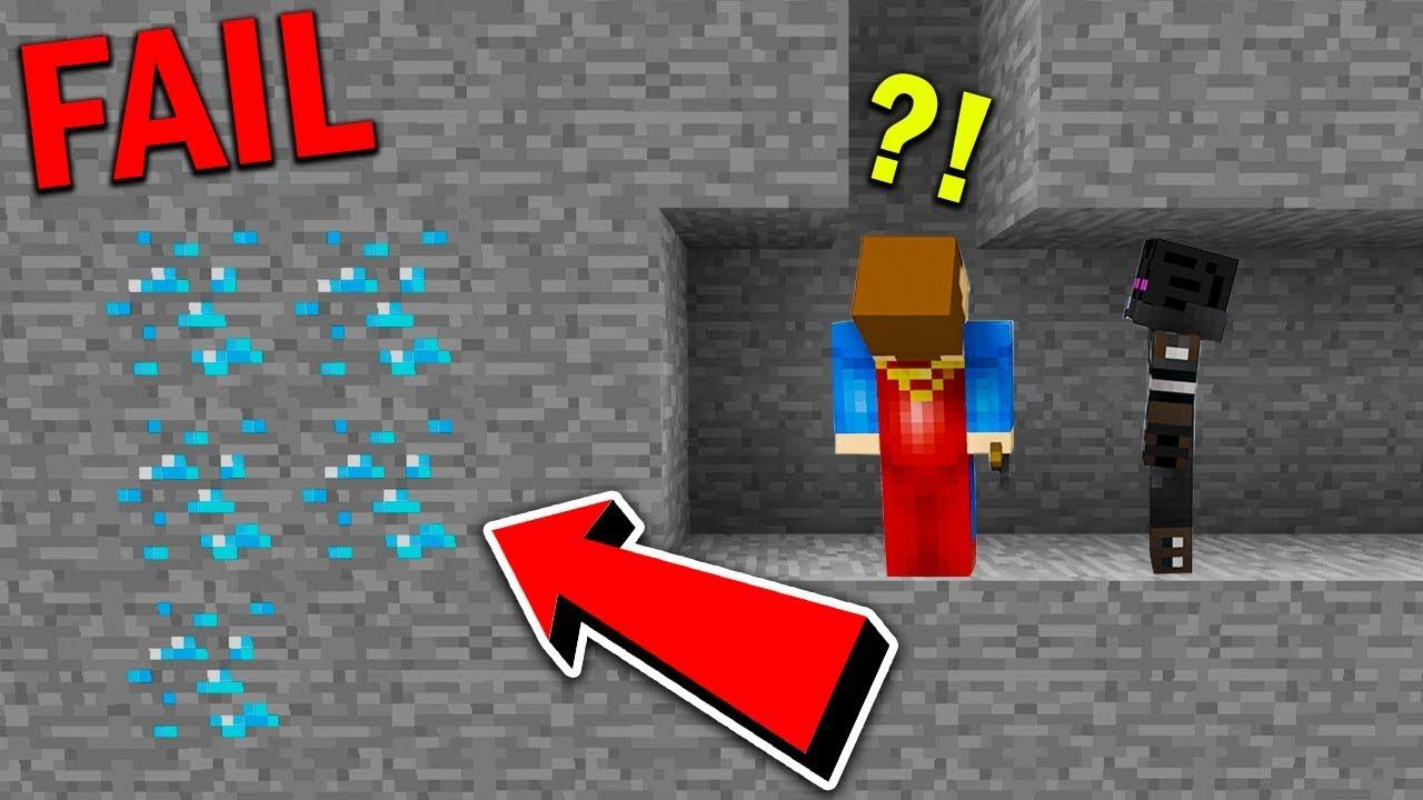 Minecraft pod ziemią – JAK NIE SZUKAĆ DIAMENTÓW XD!! #3