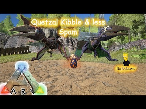 ARK Survival Evolved How to Make Quetzal Kibble & Less Key Spam