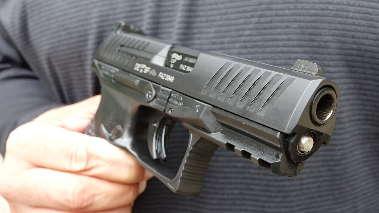 Walther PPQ M2  40 S&W DPM Systems Recoil Reduction System