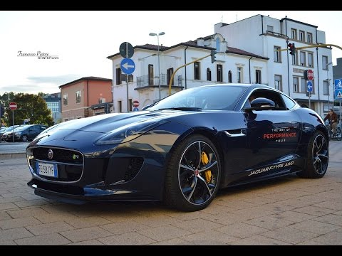 Jaguar F-Type R | TEST DRIVE #ArtOfPerformanceTour | Revs, Accelerations and Sounds