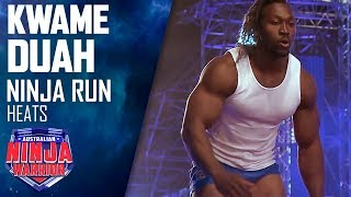Body building champion Kwame Duah tackles the course | Austral…