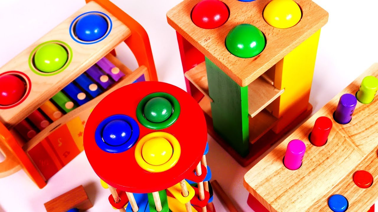 Learn Colors for Children with Learning Toys - YouTube
