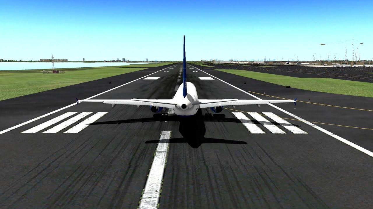 X-Plane 10: BluFX + Enhanced Runways HD + HDR Environment X Realism