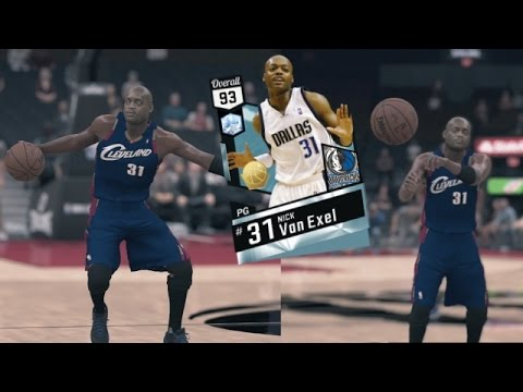 e4103e2c0e68 NBA 2K17 MyTEAM Hidden Gems - Nick THE QUICK Van Exel Taking Ankles ...