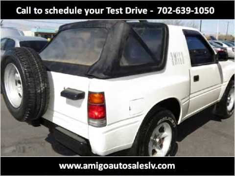 1994 Isuzu Amigo Used Cars North Las Vegas NV