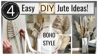 DIY Room Decor Ideas with Jute | Chalk Paint Home Decor