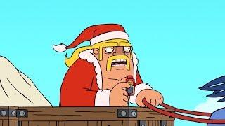 【クラクラ アニメ】Clash-A-Rama シーズン3:クリスマスはウチに帰ろう