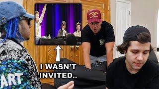 CONFRONTING HIM FOR NOT LETTING ME ON TOUR! w/ David Dobrik, Josh Peck