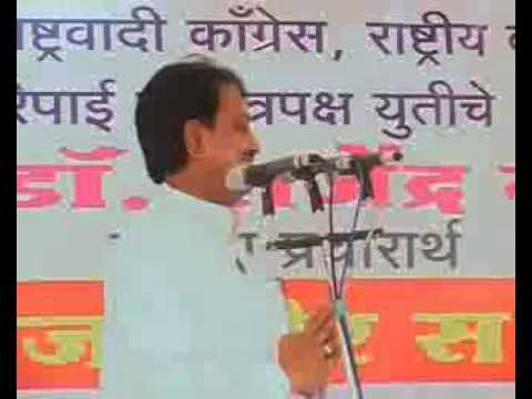 One day with hon.Vilasrao Deshmukh Saheb - Mangesh Chivate Travel Video