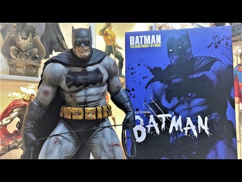 Batman The Dark Knight Returns Statue Prime 1 Studios Unboxing