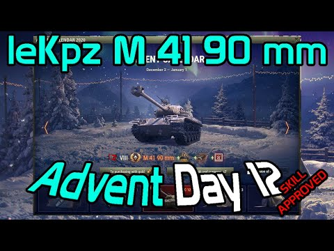 Advent Day 12: One of the best lights: leKpz M 41 90 mm