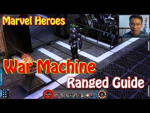 Marvel Heroes War Machine Ranged Guide (Endgame)
