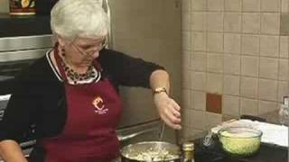 Pasta Dishes: Ham Tetrazzini