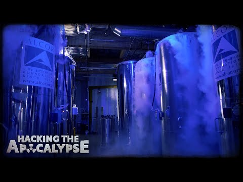 Where people go to wake up in the future: Inside a cryonics facility