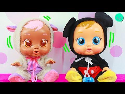 Bebés Llorones MICKEY MOUSE y LAMMY