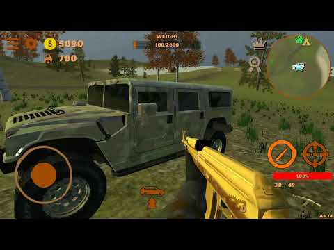 Симулятор Охоты 4х4 - Андроид Геймплей HD (Часть 1)