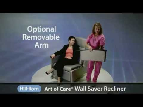 Hill-Rom | Healthcare Furniture | Art of Care® Wall Saver Recliner