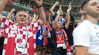 Gambar cover Watch: Croatian fans give strong statement to the England supporters | FIFA World Cup 2018