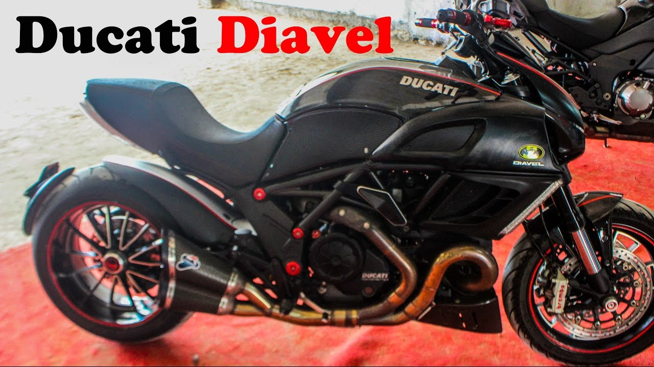 Ducati diavel specification| akrapovic exhaust SOUND |2017 new ...