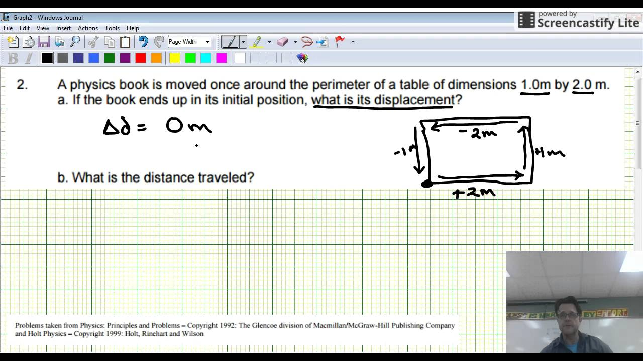Question 2 Displacement Velocity And Acceleration Worksheet Youtube
